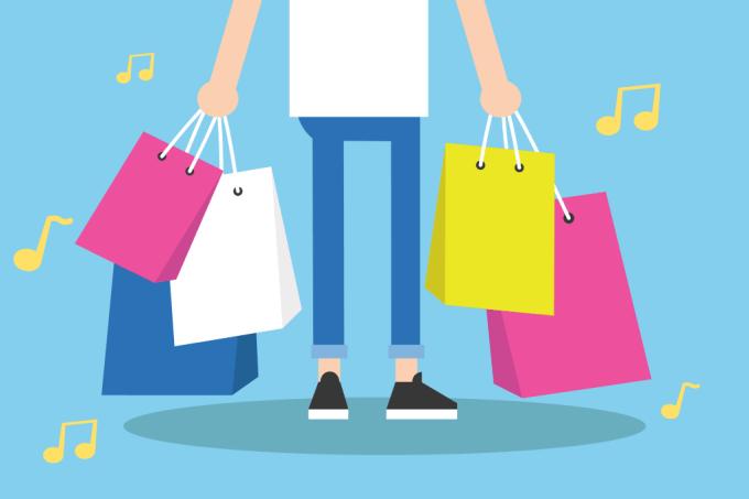 Você gastou mais por causa daquela música alegre tocando na loja