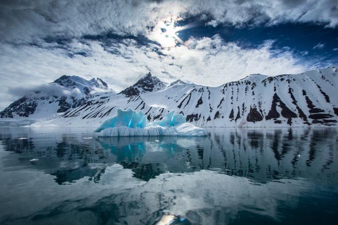 Como ficaria a Antártida se a temperatura oceânica subisse 1ºC