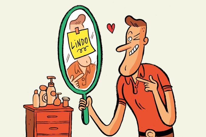 Narcisistas não curtem espelho