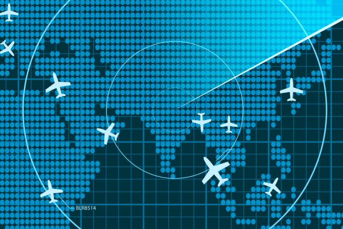 O movimento de rotação da terra influencia na duração de voos