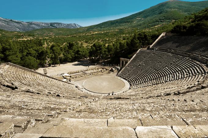 A acústica lendária dos anfiteatros gregos é história para boi dormir