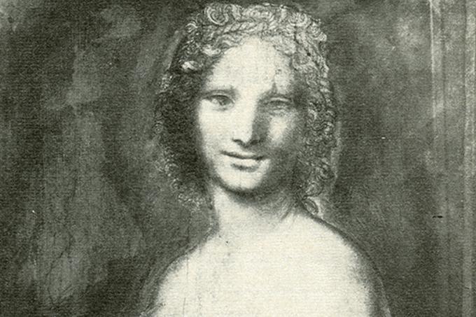 Esboço em carvão de Leonardo da Vinci pode ser Monalisa nua