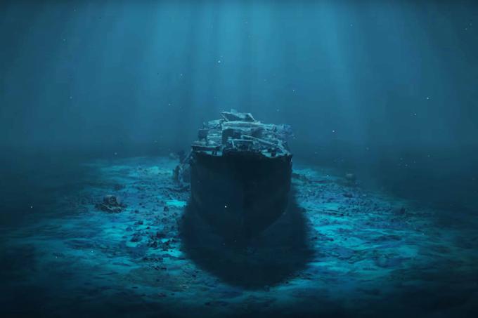 Vídeo 3D permite passeio em navio britânico afundado na 2º Guerra2
