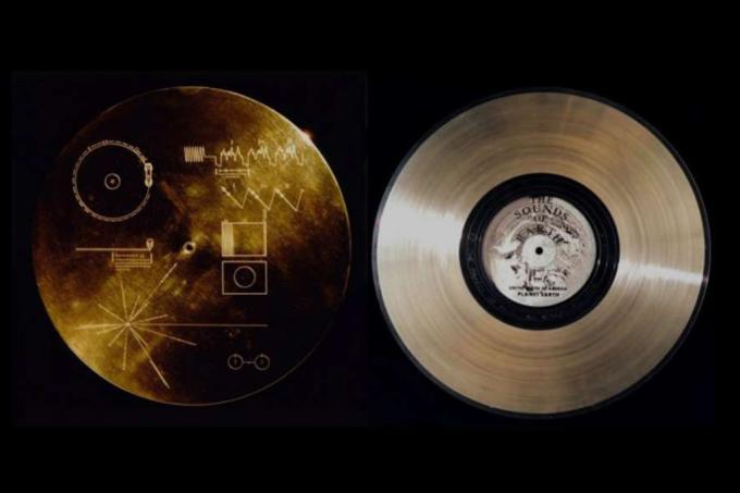 Você pode ter o disco que a Nasa despachou na Voyager em 1977