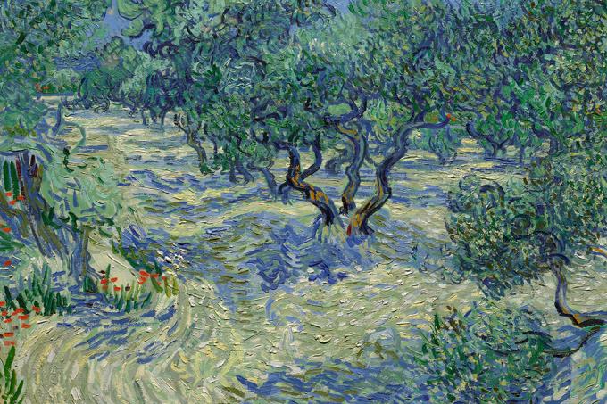 Gafanhoto morto é encontrado preso em pintura de Van Gogh