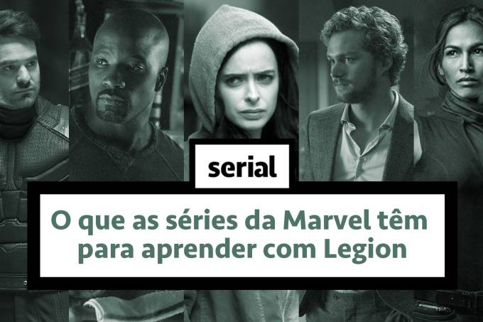 O que as séries da Marvel podem aprender com Legion — SERIAL s02e22
