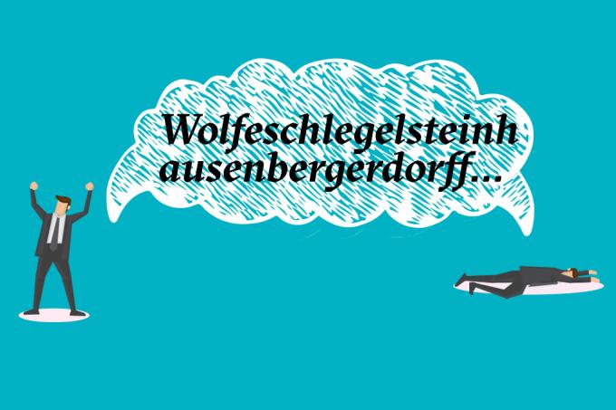 Conheça Wolfeschlegelsteinhausenbergerdorff etc., o nome mais comprido da história