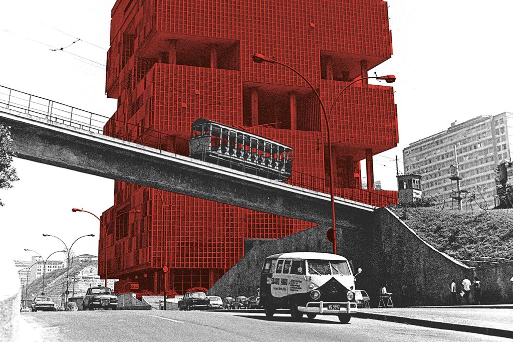 Odebrecht constrói o edifício-sede da Petrobras, sua primeira grande obra fora da Bahia. Depois dela, subiu para as 10 maiores empreiteiras.