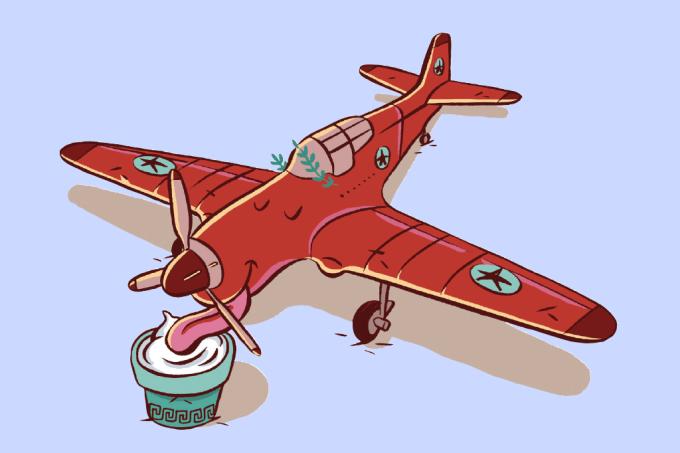 Iogurte pode abastecer aviões