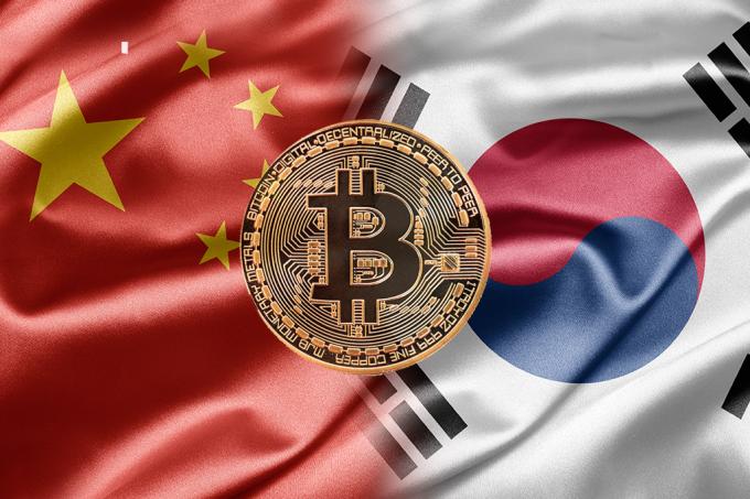 China e Coreia do Sul querem acabar com o Bitcoin