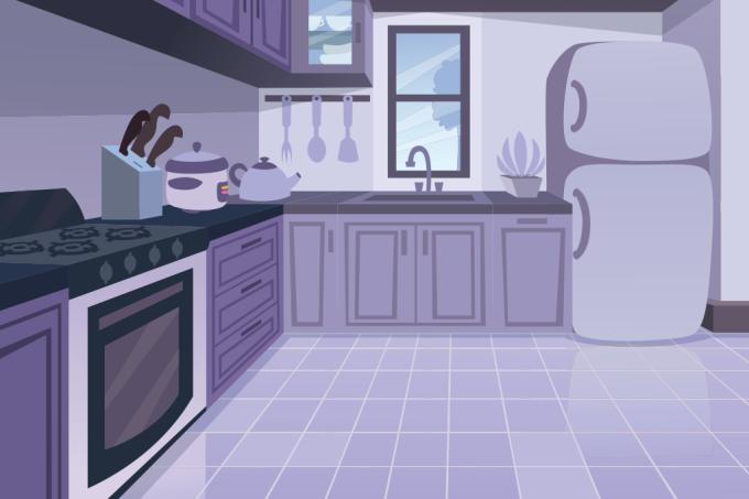 Por que objetos como geladeira, fogão e portas estalam à noite?