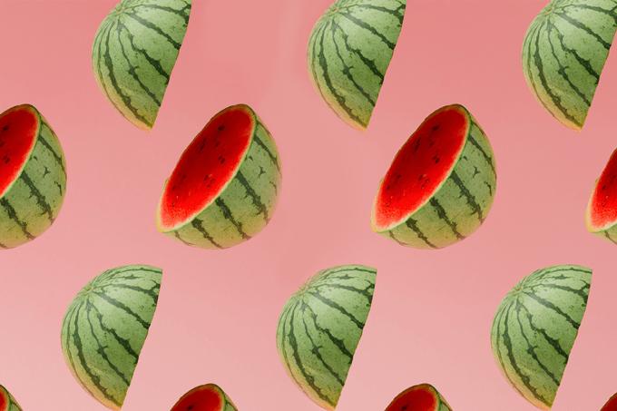 Como construir um barril com uma melancia