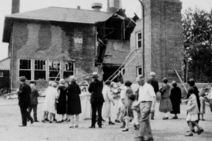 O ataque a escola mais mortal dos EUA aconteceu há mais de 90 anos