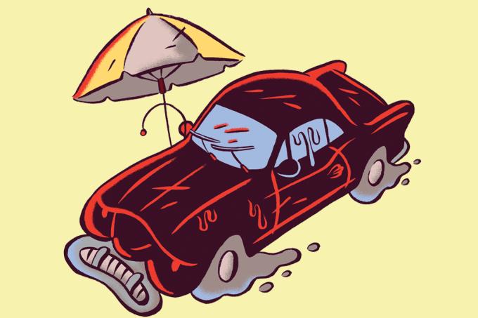 Carros escuros ficam mais quentes por dentro?