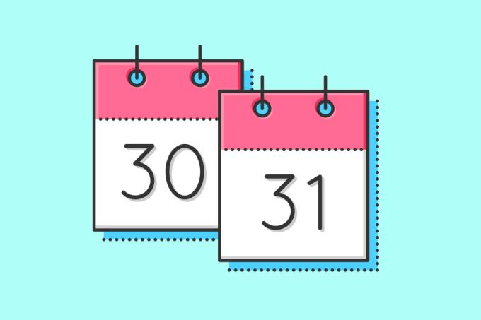 Quem determinou quais meses teriam 30 ou 31 dias?