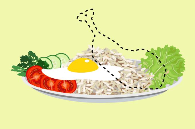 Quer perder peso? Pare de comer carne