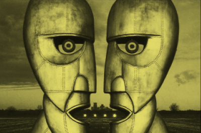 "Pink Floyd:Sua voz aparece na música ""Keep Talking"", do álbum ""The Division Bell""."