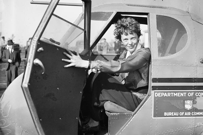 Acharam os ossos da Amelia Earhart