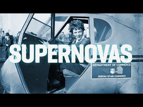 Cientista diz ter identificado ossos de Amelia Earhart – SUPERNOVAS