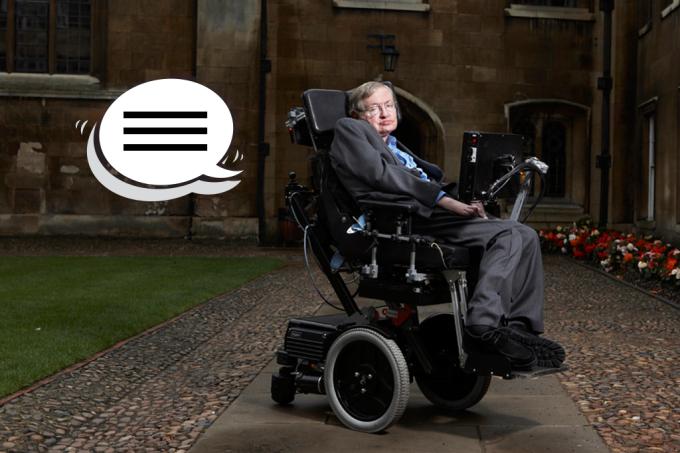 Como Stephen Hawking conseguia falar
