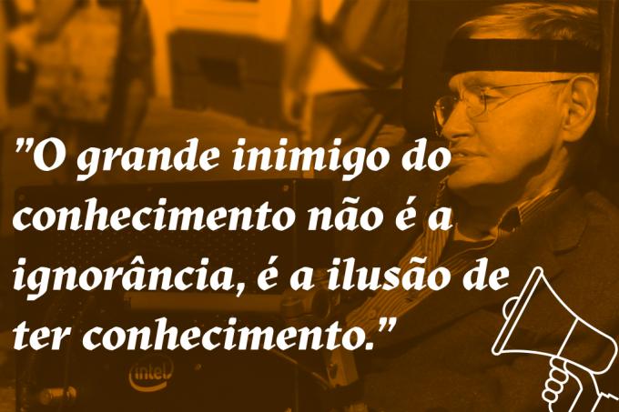 Escute as melhores frases de Stephen Hawking – na voz do próprio