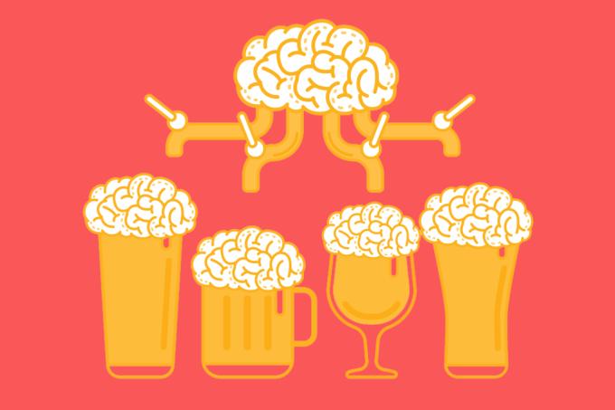 Estudo enorme mostra que alcool causa demência precoce