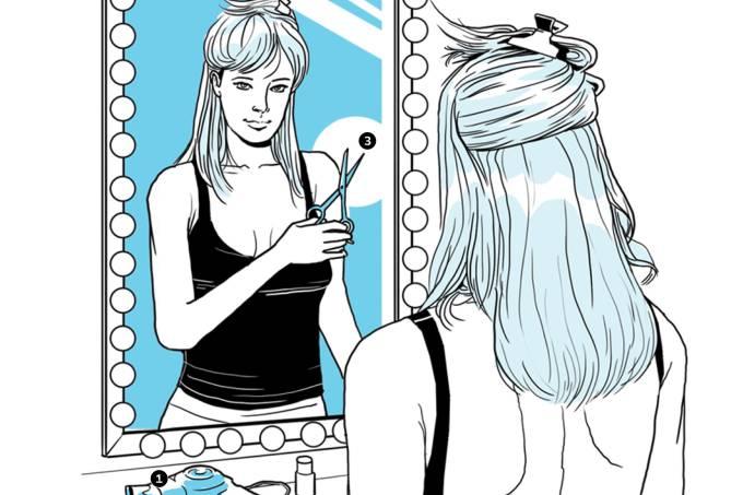 Como cortar seu próprio cabelo