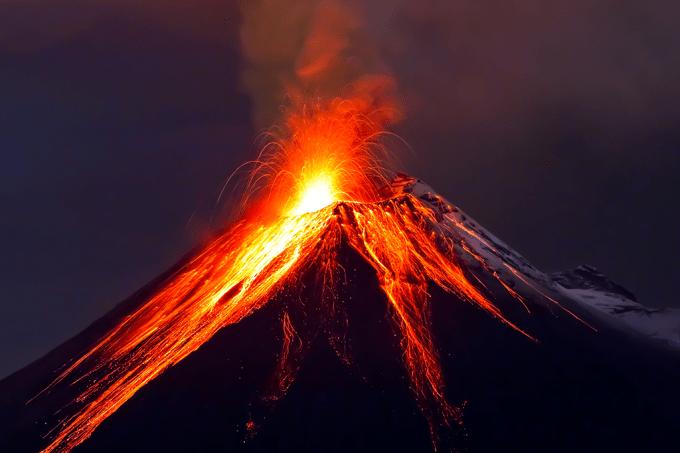 Nem doeu- ser humano pré-histórico se deu bem após erupção massiva há 75 mil anos