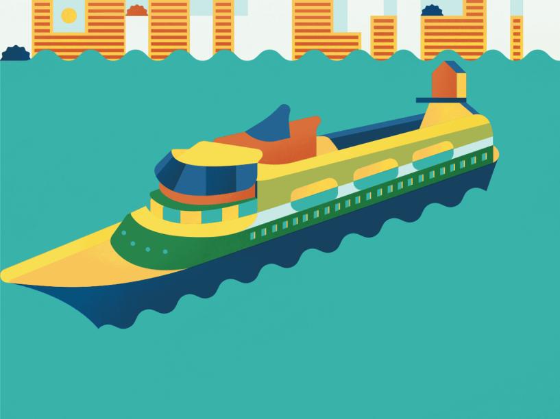 Foi depois de muito esforço, tentativas e erros que surgiu o sistema de locomoção a vapor e, com ele, os primeiros navios e barcos motorizados. Isso só aconteceu há 230 anos. Ainda hoje os navios de diferentes portes usam motores para transportar pessoas, matérias-primas e bens de consumo. A criatividade humana levou à construção de modelos variados, alguns com até 400 metros de comprimento. Também ajudou o desenvolvimento dos submarinos, capazes de passar semanas totalmente submersos, e veículos a motor para uso individual, como os jet skis. Conforme a tecnologia avançou, outras evoluções passaram a ser usadas, seja o monitoramento por satélite ou o desenvolvimento de navios robóticos