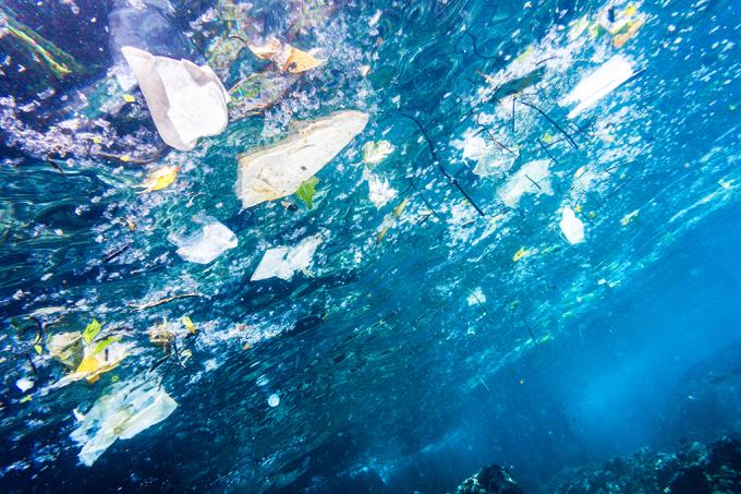 A real sobre a ilha de plástico do pacífico