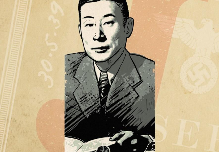 O diplomata Chiune Sugihara