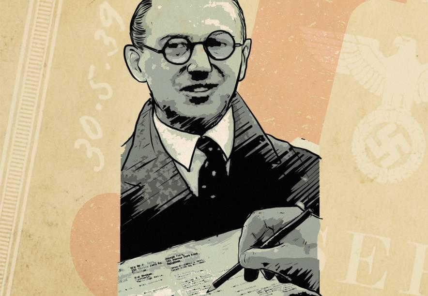 O corretor da bolsa de valores Nicholas Winston