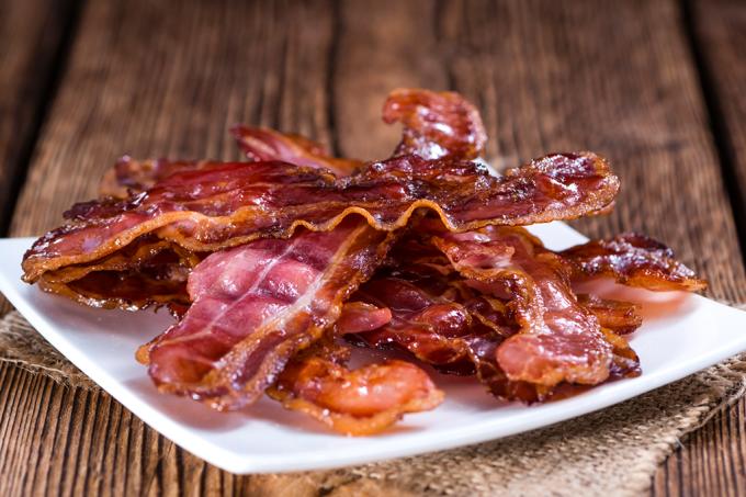 Quanto de bacon pode render um único porco?