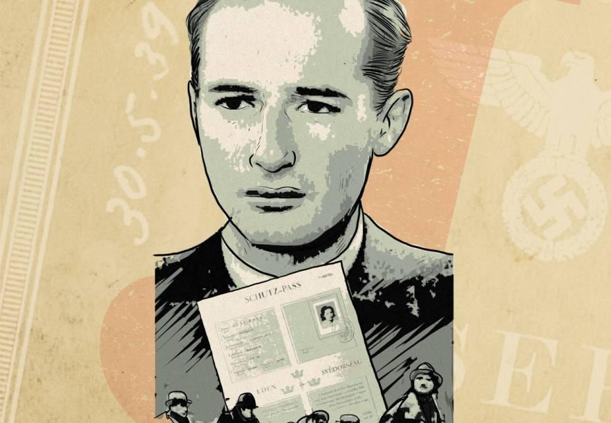 O empresário Raoul Wallenberg