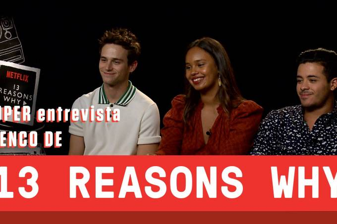 "SUPER entrevista: elenco de ""13 Reasons Why"""