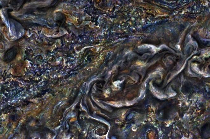 Vídeo mostra movimento das nuvens de Júpiter
