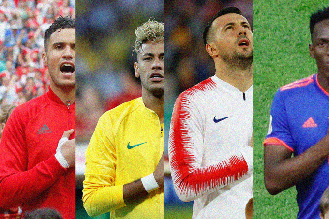 Como seria o Hino Mundial?_home