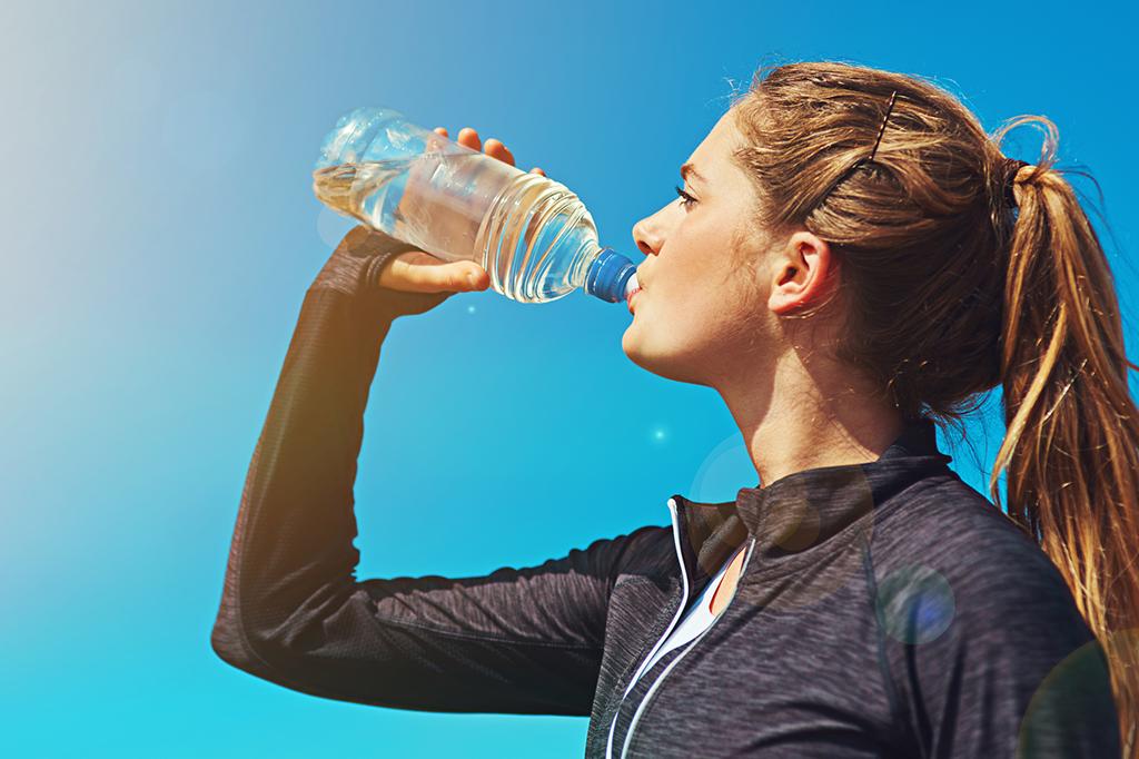 beber água é importante