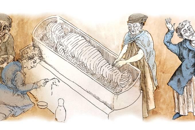 Como é um ritual da imortalidade?