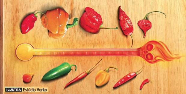 pimenta-ardida-tempero-calor-quente