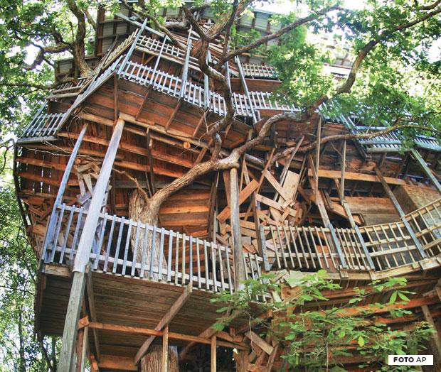 maior casa na árvore já construída