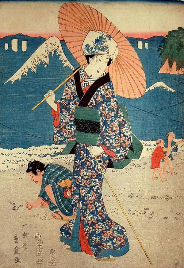 Geisha-Hiroshige