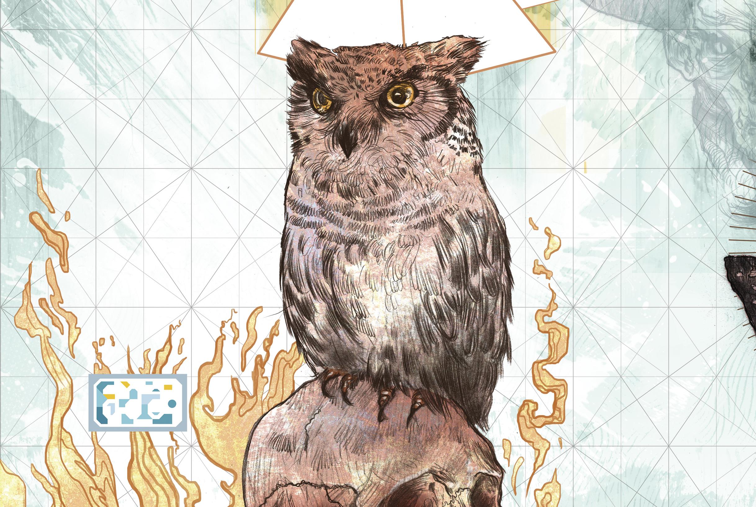 Simbolos Illuminatis - coruja