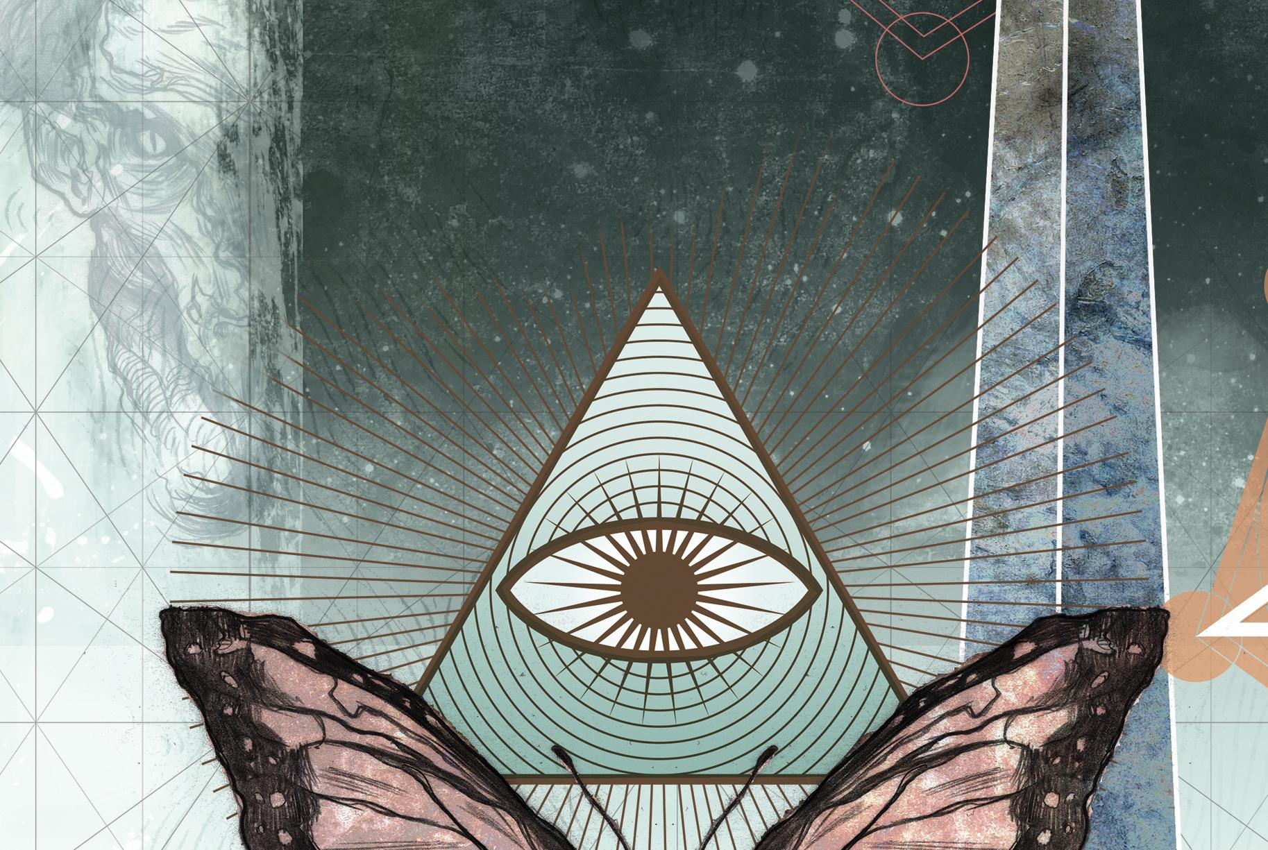 Simbolos Illuminatis - olho que tudo ve