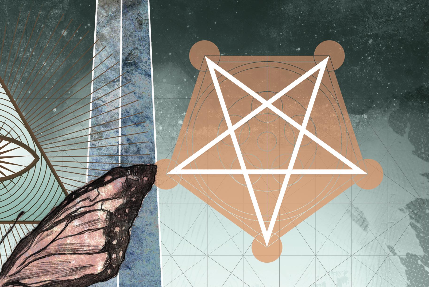 Simbolos Illuminatis - pentagrama