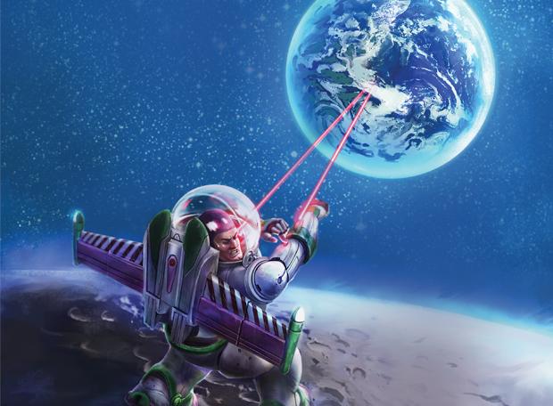 Buzz Lightyear na lua