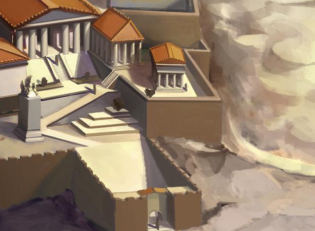templo de atenas