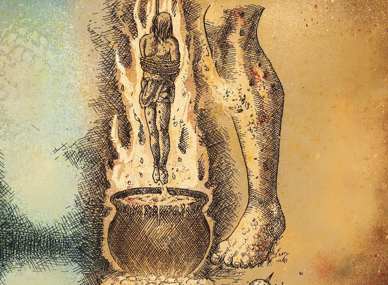 fogo - polvora e frigideira