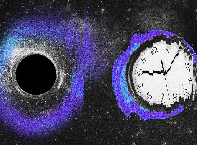 buraco negro e afastamento das galáxias