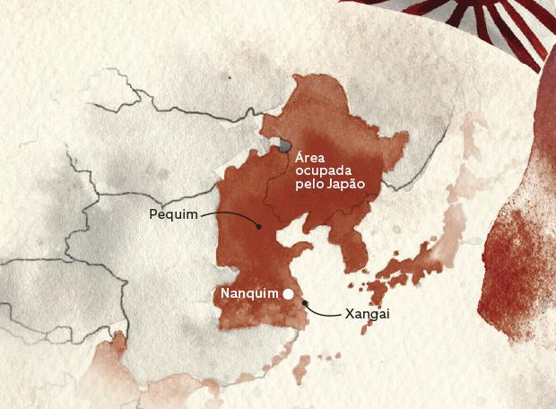 Mapa Nanquim